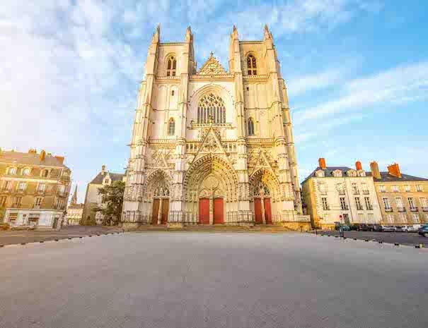 Visite du centre historique et de la cathédrale de Nantes et de la cathédrale de Nantes