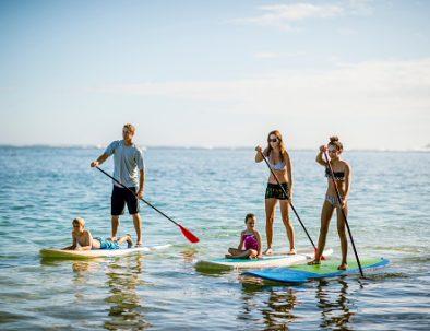 Paddle dans le Golfe du Morbihan pour des vacances sportif