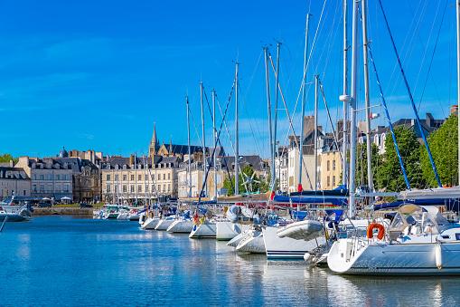 Vacances près du Port de Vannes, Bretagne