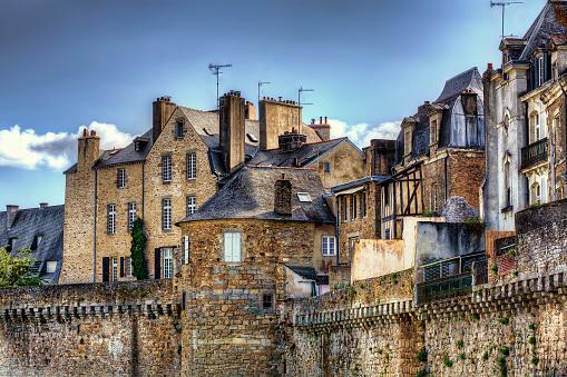 Vacances à Vannes et ses remparts, Bretagne