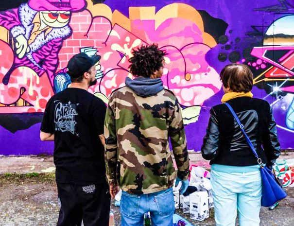 Activité team building street art à Rennes