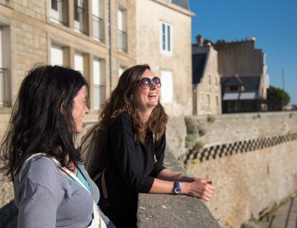 Visite privée de Saint-Malo avec un habitant