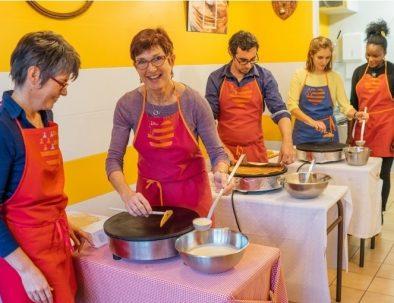 Cours de cuisine chez une bigoudène en Finistère