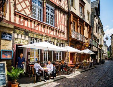 Gourmet break in a restaurant in Rennes