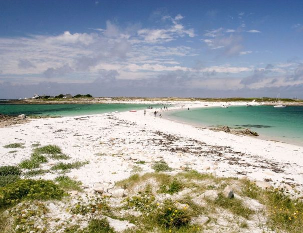 Boat tour to the Glénan Archipelago in Finistere in Southern Brittany