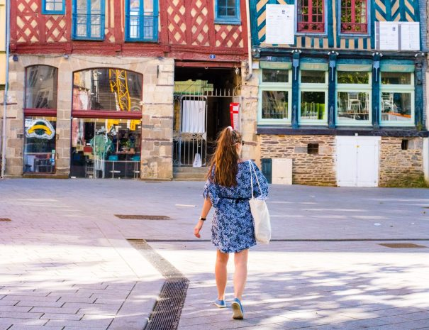 visit of Rennes during your city breaks with a local