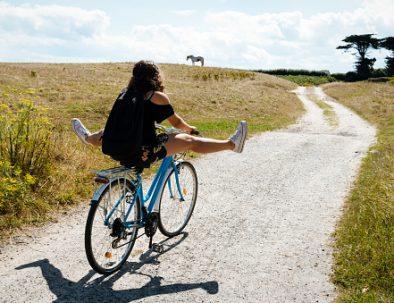 Découverte de l'île de Houat à vélo