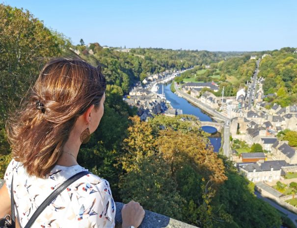 Visit of Dinan and view of the Rance valley