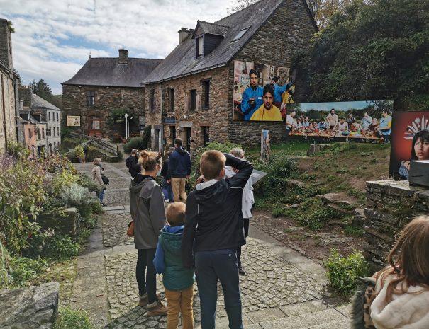 Visite du festival photo à la Gacilly en Famille