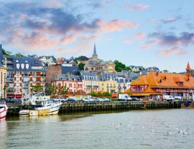 Séjour à Trouville sur mer en Normandie