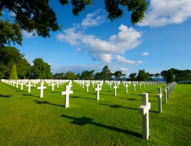 Visite du Cimetière américain en Normandie