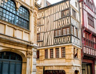 Maisons à pans de bois Rouen