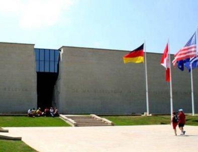 Visite du musée du Mémorial de Caen