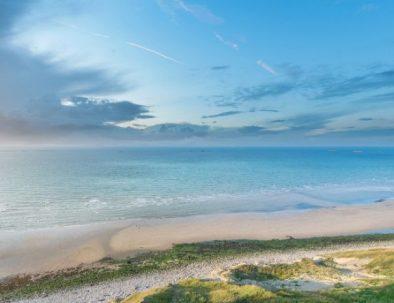 Visite privée des plages du débarquement de la seconde guerre mondiale en normandie