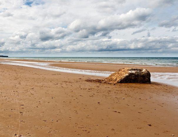 Visite privée de la Plage du débarquement Omaha Beach en Normandie