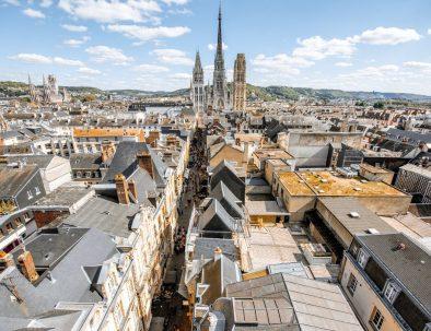 La ville de Rouen