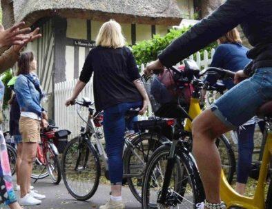 Visite à vélo de Honfleur