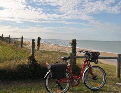 balade à vélo à Deauville