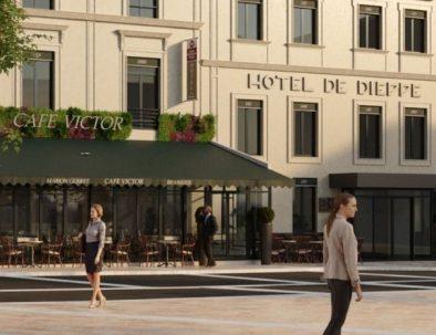 Séjour à l'hôtel de Dieppe, hotel de charme à Rouen