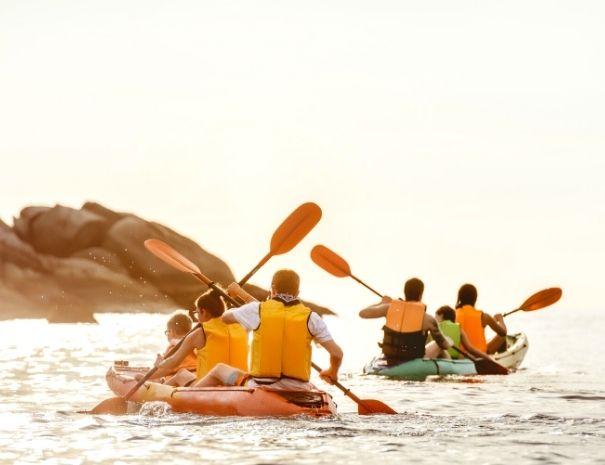 Activité team building kayak en Côtes d'Armor