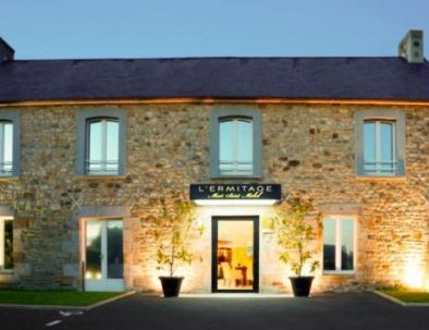 Stay at the luxury hotel L'Ermitage at Mont Saint Michel