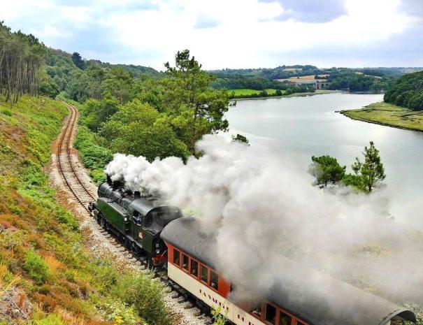 Train à vapeur du Trieux, de Paimpol à Pontrieux
