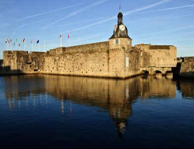 Visit of Concarneau and its fortified town during a stay in Finistère