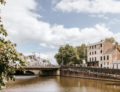 The Vilaine, a beautiful river that runs through Rennes