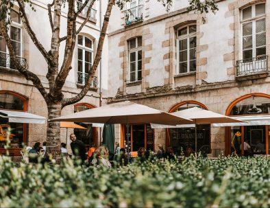 Terrace bars Rennes in Rennes