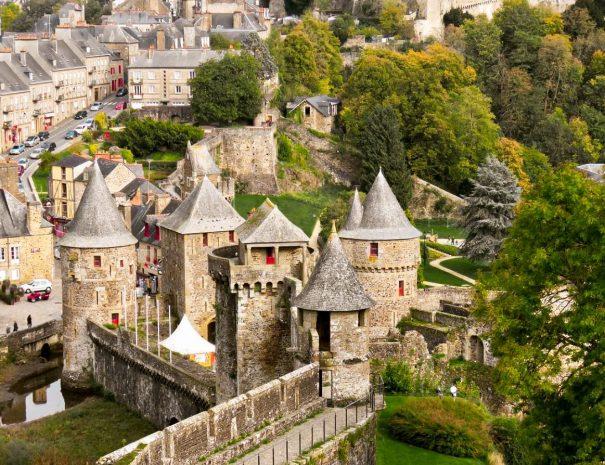 Visite du Château de Fougères en Bretagne