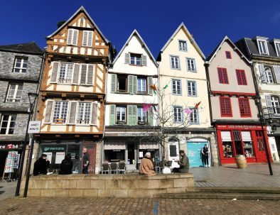 Traditional houses in Morlaix