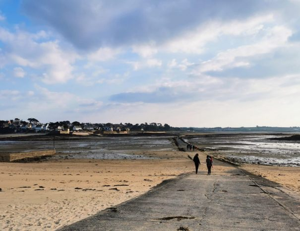 walk in the bay of Morlaix for your holidays